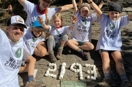 Volunteers physicians in Chad, Netteburg family of 6 hike the Appalachian Trail